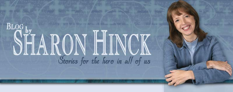 Welcome to the blog of author Sharon Hinck!